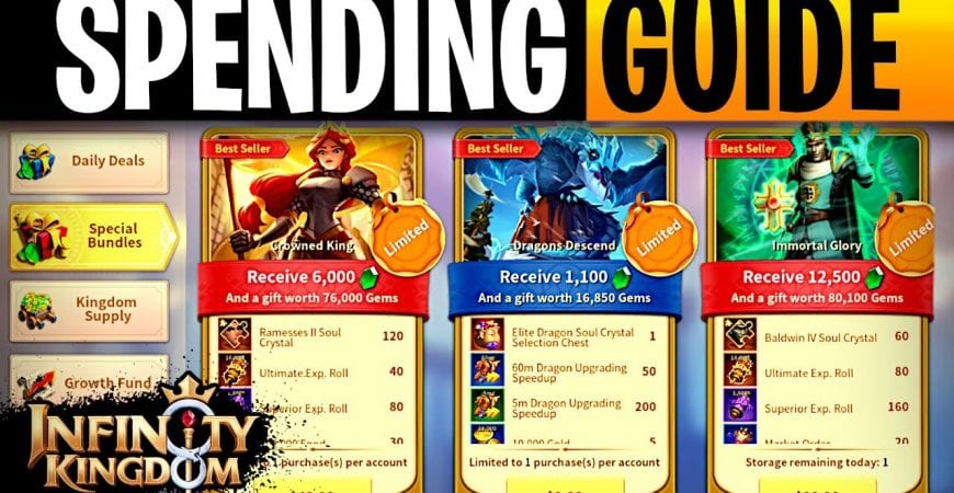 Infinity Kingdom Ultimate Spenders Guide by ECHO Gaming