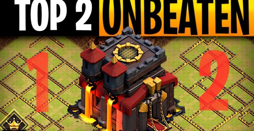 2 Clash of Clans Bases you Can Not beat – TH10 by ECHO Gaming