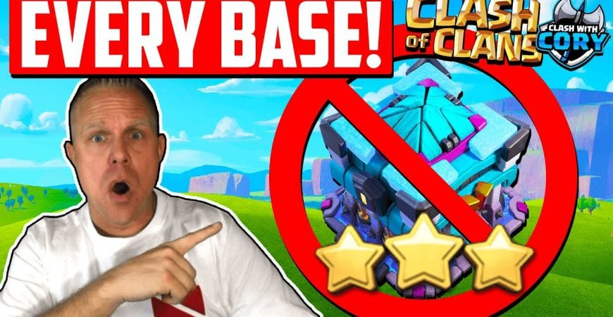 This Attack 3 Stars EVERY BASE Style at TH 13 ! Best Strategy for Town Hall 13 | Clash of Clans 2021 by Clash With Cory
