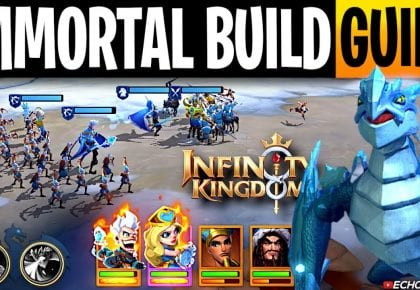 Infinity Kingdom Ultimate Guide to build your Primary March by ECHO Gaming