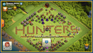 Coc th10 famous clan hunters base
