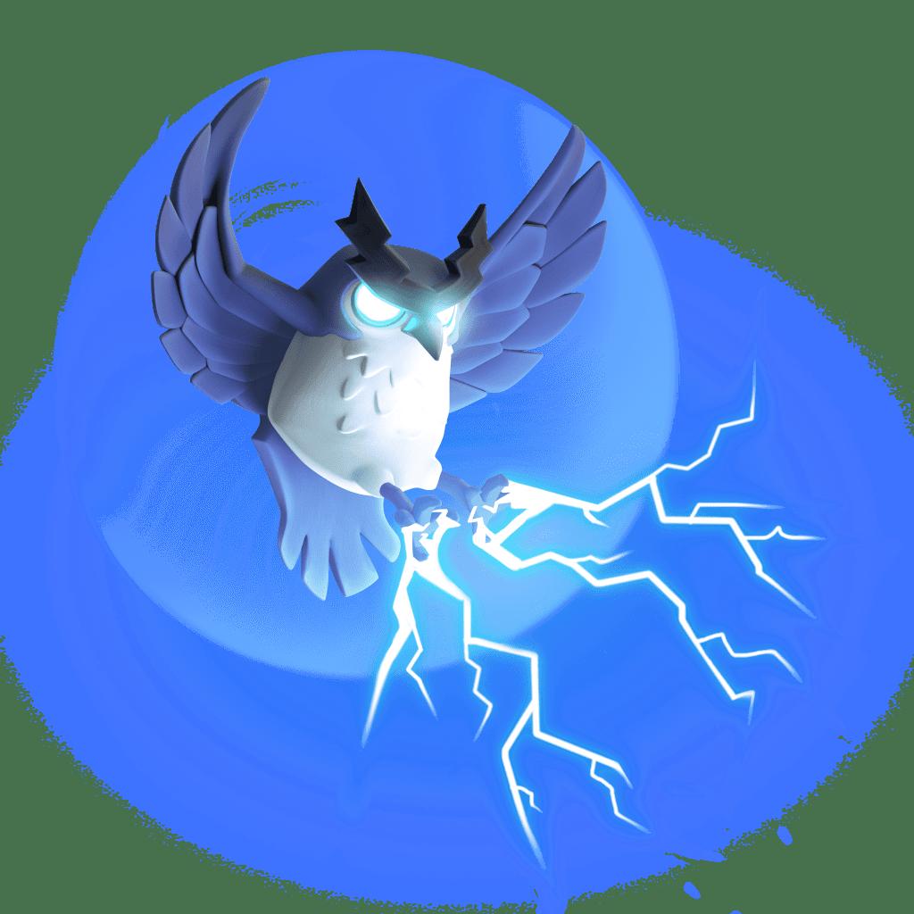 Th14 Update Sneak Peek - Hero Pets - Electro Owl