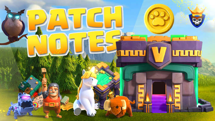 Update Patch Notes – Town Hall 14 – Full Release Notes!