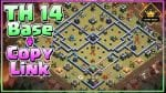 AWESOME! Custom Champ Bases TH14 Legend League/CWL Base + COPY LINK!