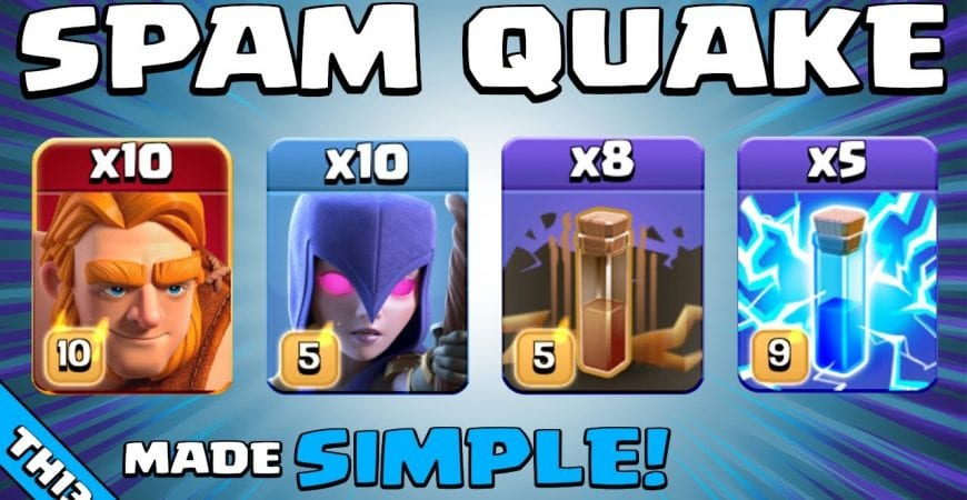 3 STAR SPAM (NO SKILL REQUIRED) | TH13 Attack Strategy | Clash of Clans by Sir Moose Gaming