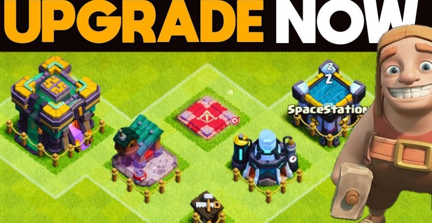 The Right Way to Upgrade your Town Hall 14 Base by ECHO Gaming