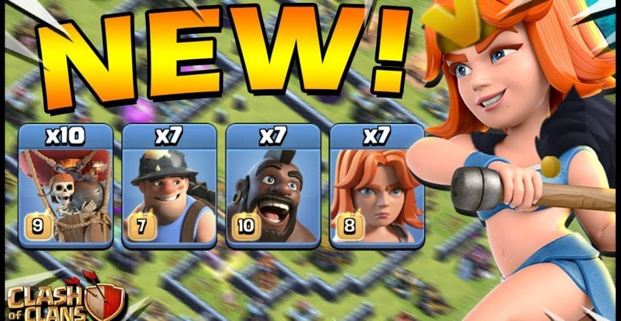 NEW Valk-Hybrid-Lalo Attack!! IT ACTUALLY WORKS! VaHyLo Attack Strategy by CarbonFin Gaming
