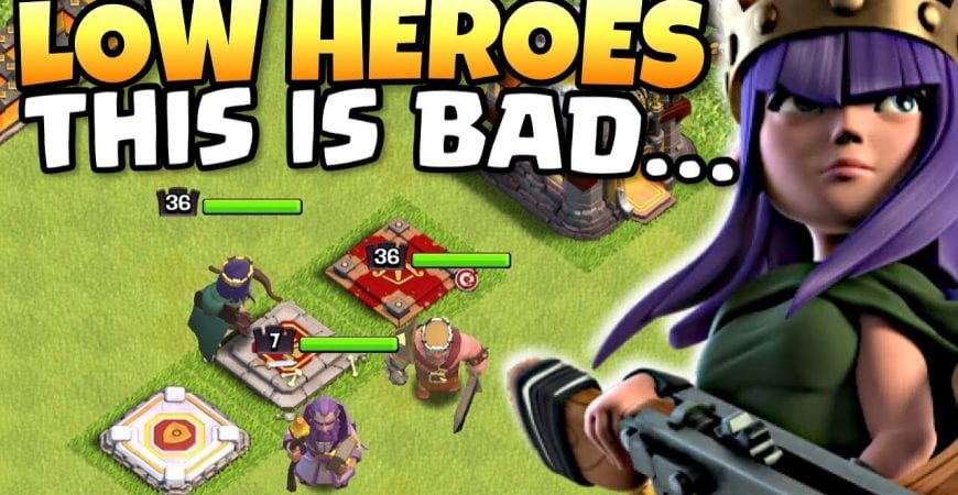 This CAN'T turn out GOOD, CAN IT?! TH11 LOW HEROES and NO SIEGE MACHINES! Clash of Clans eSports by Clash with Eric – OneHive