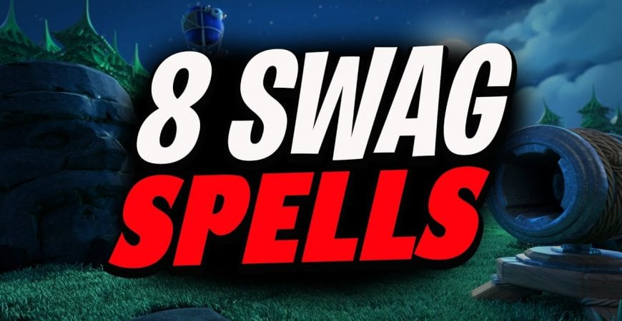 8 Swag Spells | Th13 | Clash of Clans by Lando Gaming