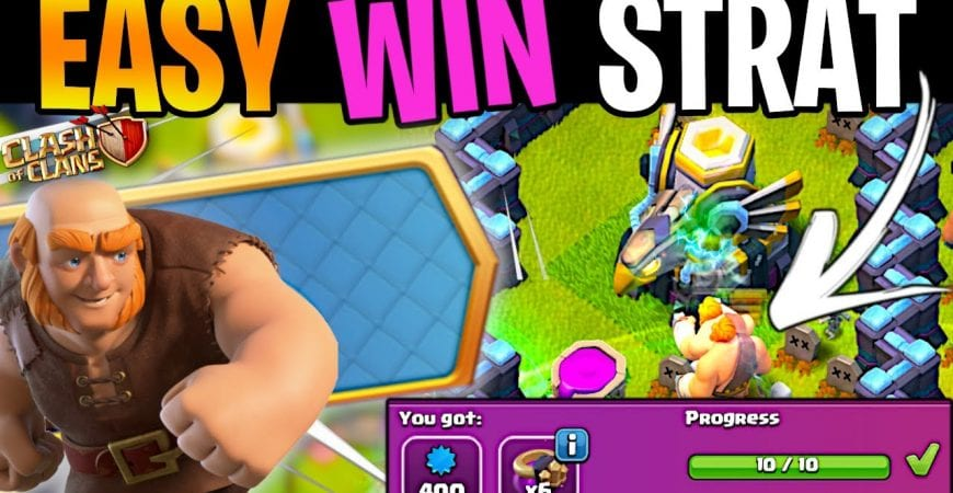 Easy Strategy to Beat Titanic Strength (Clash of Clans) by ECHO Gaming