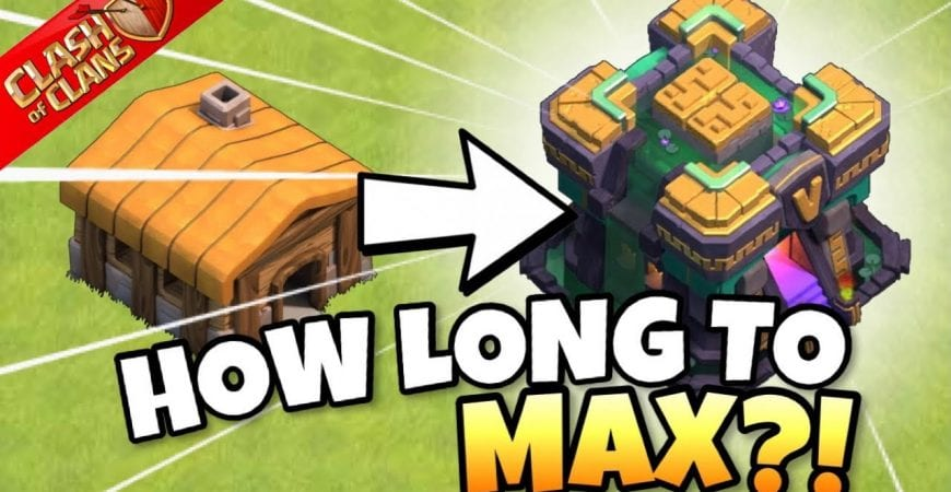 HOW LONG to UPGRADE TH2 to TH14?! THAT'S INSANE!! 🤯 | Clash of Clans by Clash with Eric – OneHive