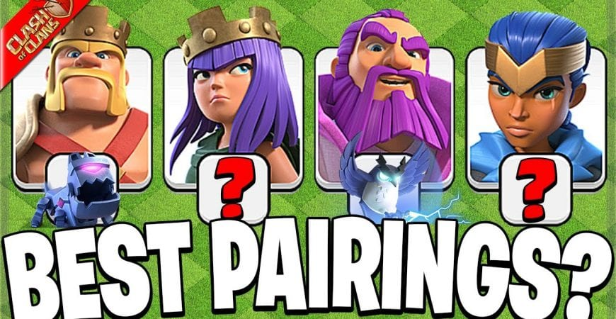 Which Pets go with Which Heroes?! (Clash of Clans) by Clash Bashing!!