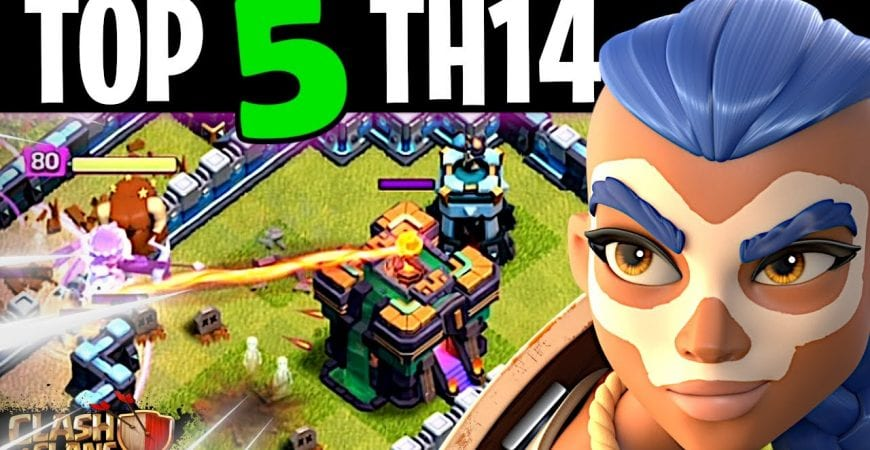 The BEST 5 Town Hall 14 Strategies to use RIGHT NOW by ECHO Gaming