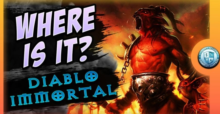 Where is Diablo Immortal ? | My Daily Routine by Scrappy Academy