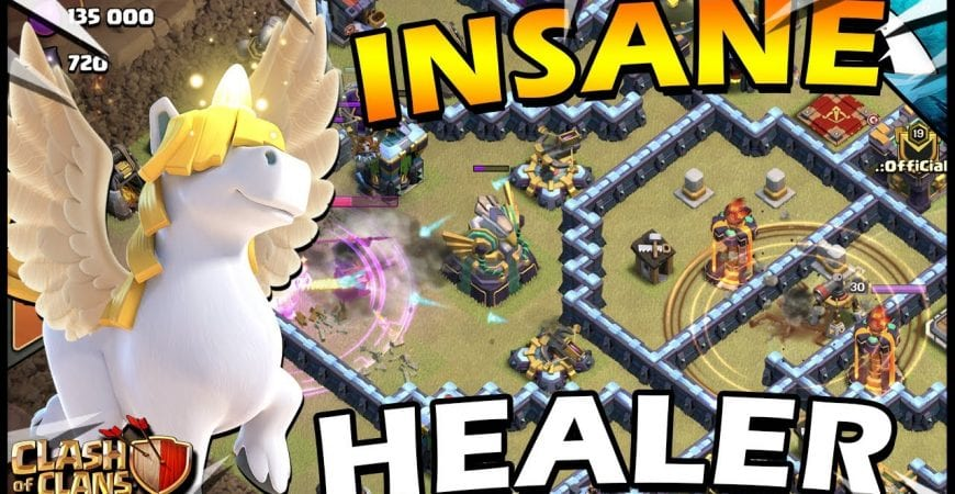 INSANE Unicorn Healer RC Attack in Clash of Clans! by CarbonFin Gaming