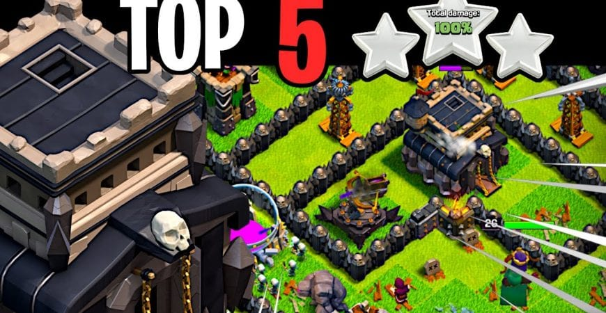 Top 5 BEST Town Hall 9 Attack Strategies Clash of Clans by ECHO Gaming