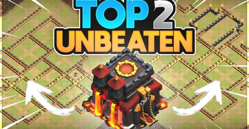 The Best Town Hall 10 Players Can't Beat these Unbeaten Bases by ECHO Gaming