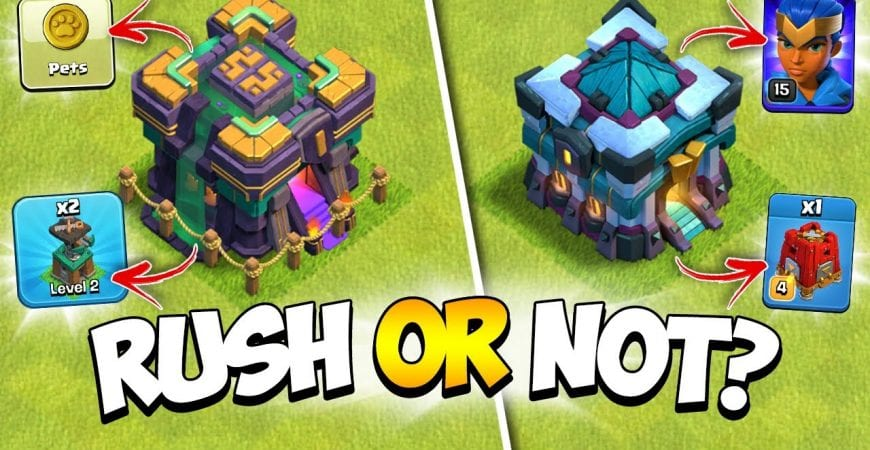Should You Rush to Town Hall 14 (TH14) or Wait for the Next Clash of Clans Update? by Kenny Jo