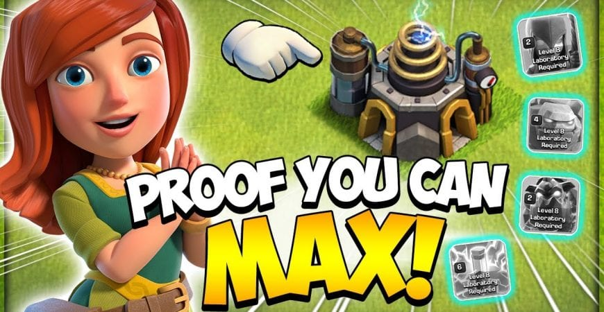 How Long Does It Take to Max Town Hall 9 (TH9) Laboratory in 2021 (Clash of Clans) by Kenny Jo