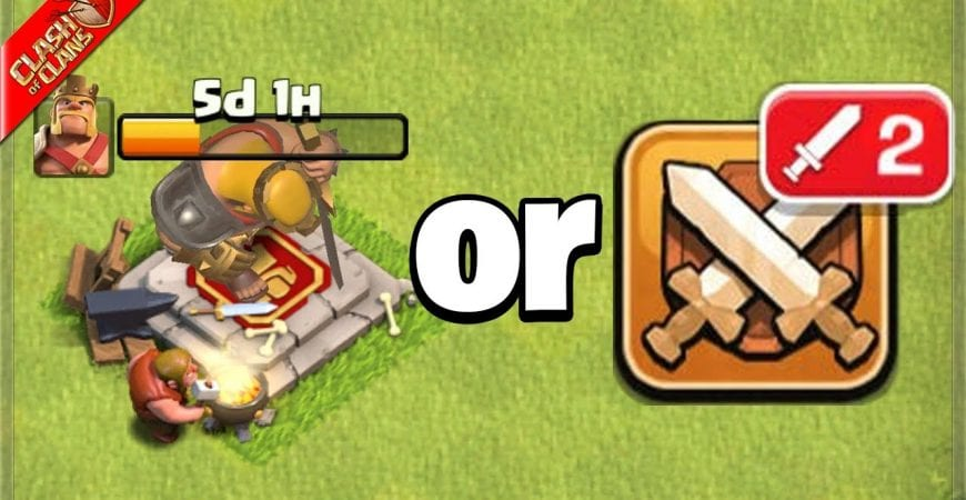 Upgrade Heroes Now or Wait Until After War? (Clash of Clans) by Clash Bashing!!