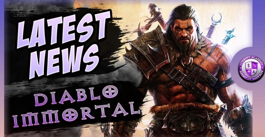 Diablo Immortal Closed Alpha Information by Scrappy Academy