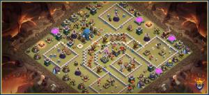 TH 12 anti air war base. ( Specially for drags and Ed's)