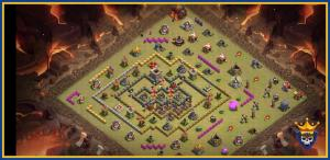 Th10 War Base without Inferno