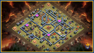 Champ-ion base for War!!! TH14