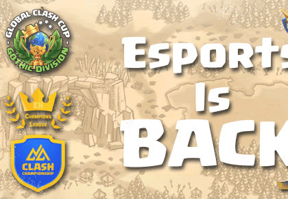Esports returned to Clash of Clans