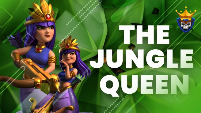Jungle Archer Queen Skin Revealed – June Hero Skin!