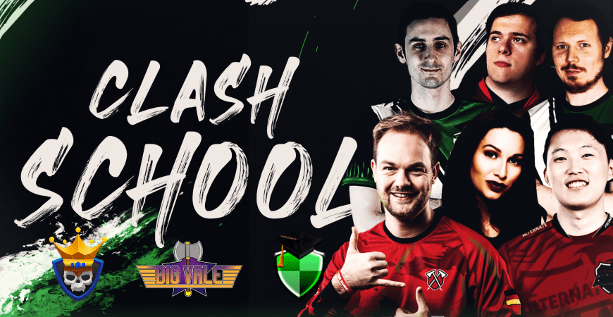 Want to up your game? – Clash School can help