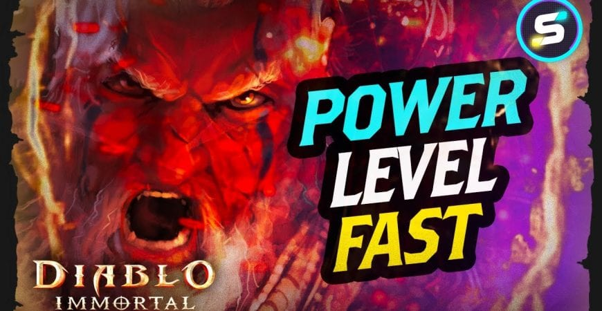 How to Power Level Fast in Diablo Immortal by Scrappy Academy