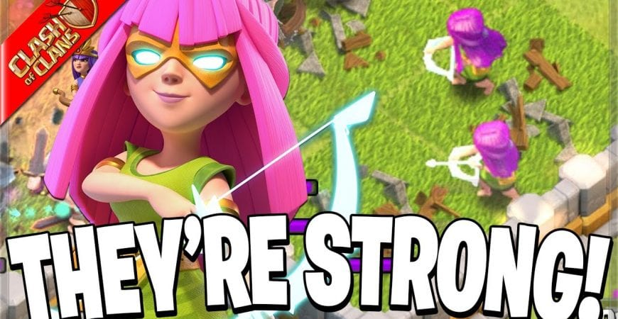 Can we make a SUPER ARCHERS army work? (Clash of Clans) by Clash Bashing!!