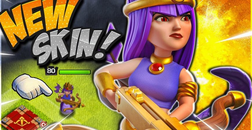 NEW Jungle Queen Skin Coming SOON! [Clash of Clans] #Shorts by CorruptYT