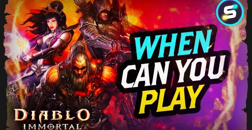 Diablo Immortal Latest Release Date Predictions by Scrappy Academy