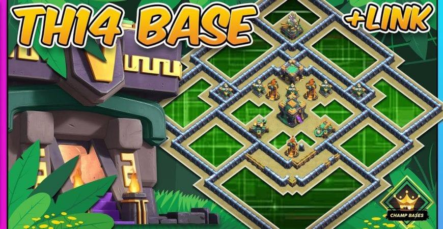 0 STAR BASE! | TH14 Legend League Base + COPY LINK by Gaz Tommo