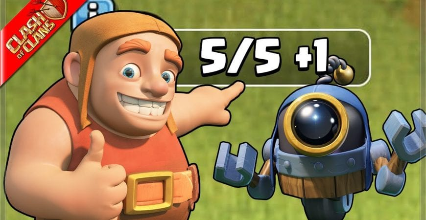 On the Road to the 6th Builder! (Clash of Clans) by Clash Bashing!!