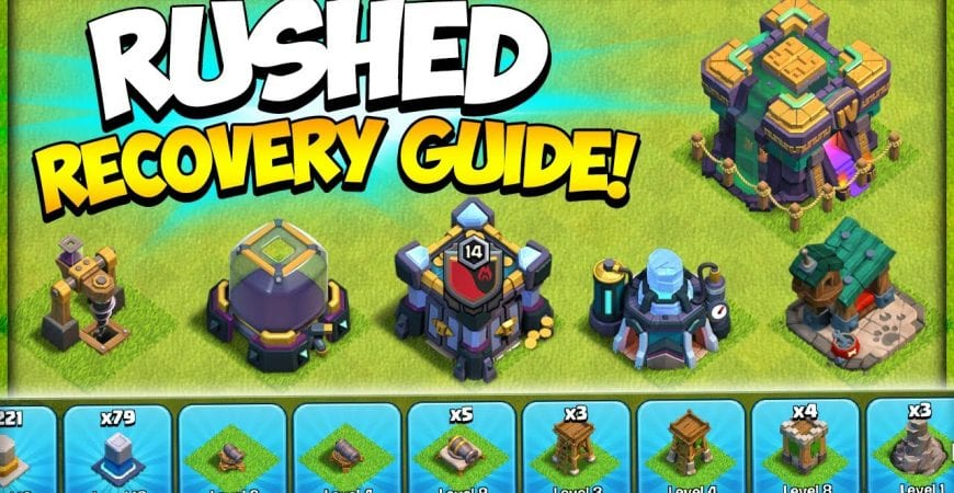 The Ultimate Rushed Base Recovery Guide in Clash of Clans by Kenny Jo