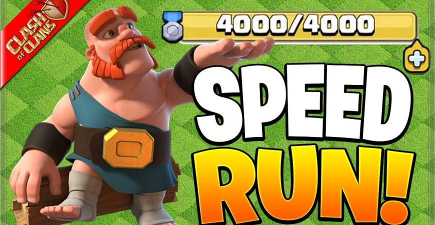 How Fast can I Complete the Clan Games? (Clash of Clans) by Clash Bashing!!
