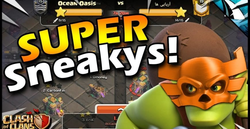The SNEAKY way to grab a Town Hall 14 in the CWL!! by CarbonFin Gaming