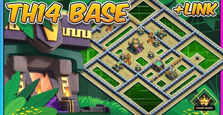 TROLL | Th14 Legend League Base + COPY LINK! by Gaz Tommo