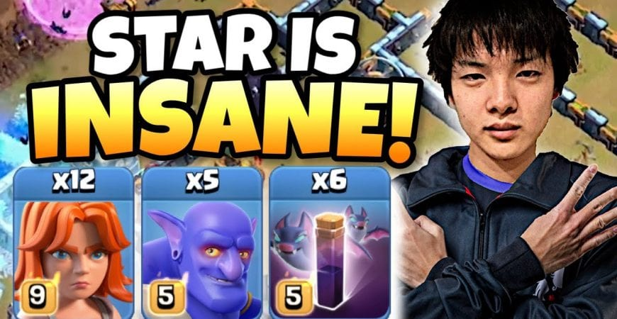 MIND BOGGLING! Stars used VALKYRIES with BATS at TH14   Clash of Clans eSports by Clash with Eric – OneHive