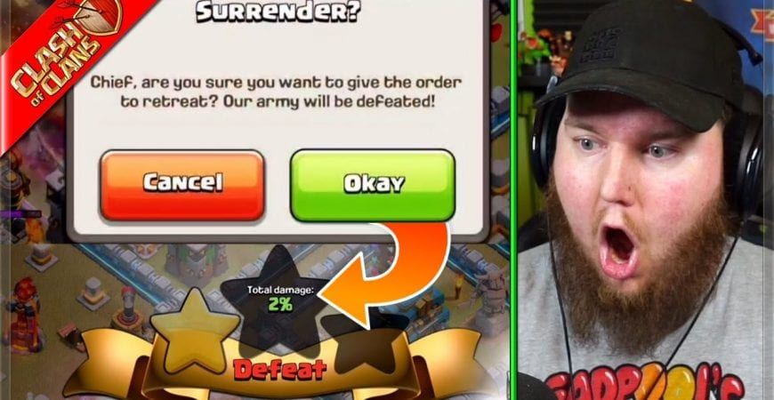 This was the sketchiest 5v5 Friday EVER! (Clash of Clans) by Clash Bashing!!