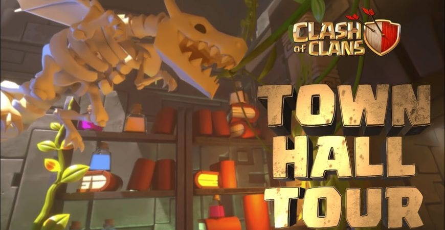 Clash Of Clans: Town Hall Tour by Clash of Clans