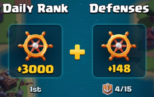Clan War Boat Defenses