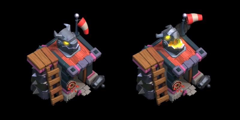 June Update - New Building Levels - Barracks