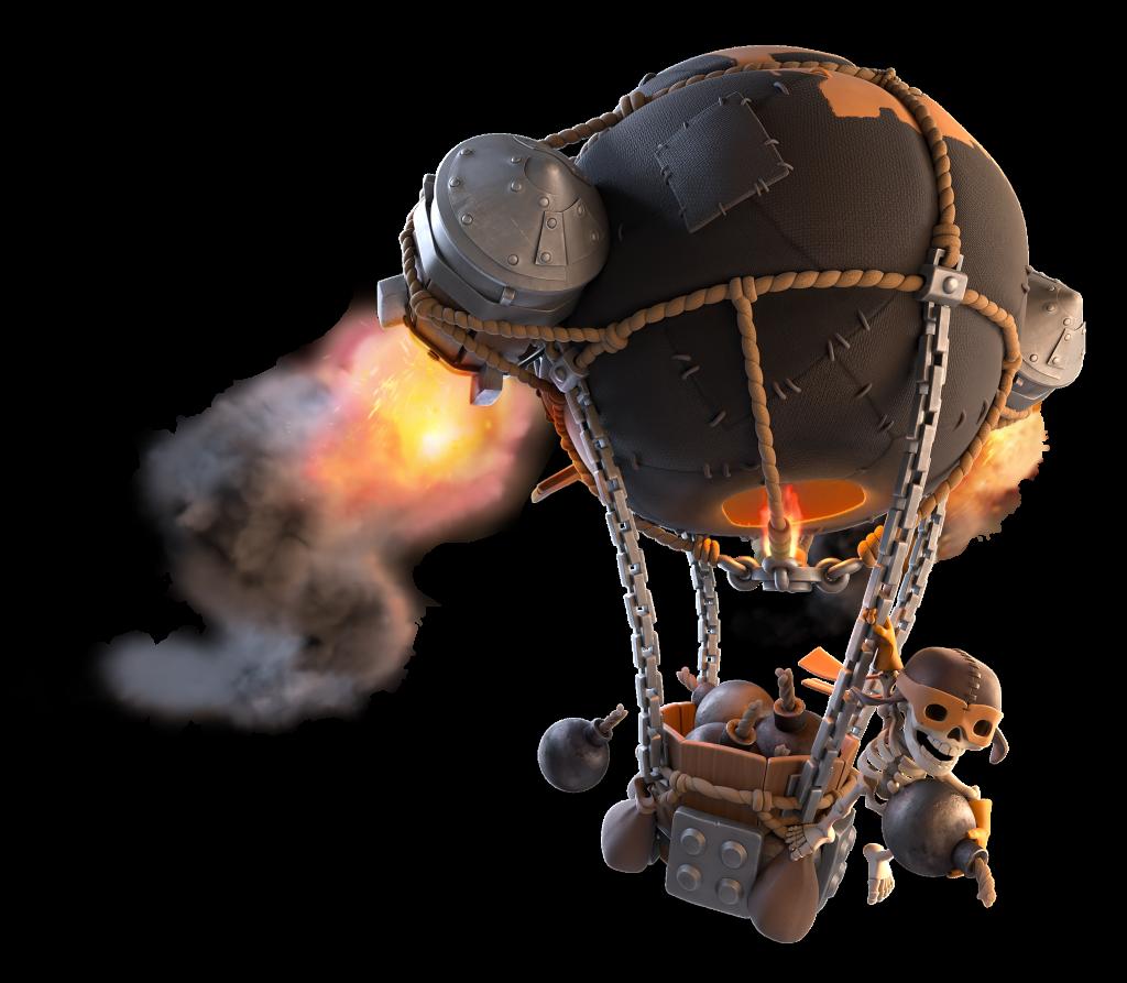 New Super Troop: Rocket Balloon