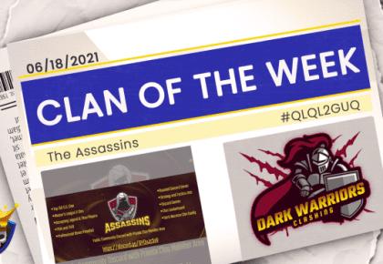 Clan Recruitment of the Week – The Assassins #QLQL2GUQ