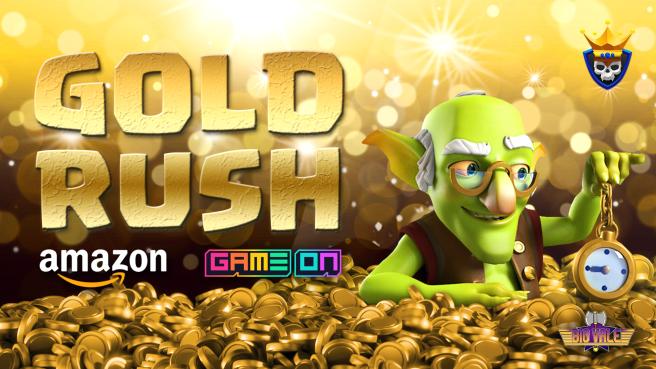Gold Rush Challenge on Amazon's Gameon App