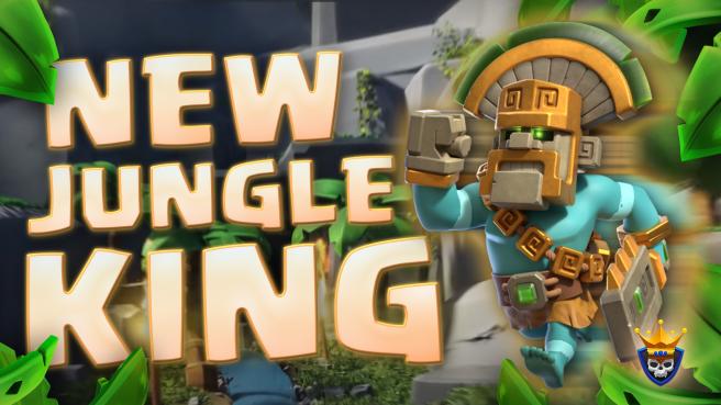 Jungle Barbarian King Skin Revealed – July Hero Skin